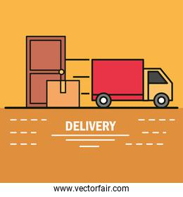 delivery truck house