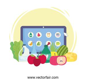 grocery online products