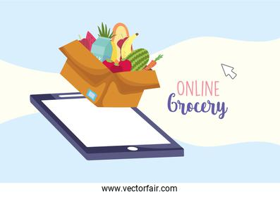 mobile grocery online
