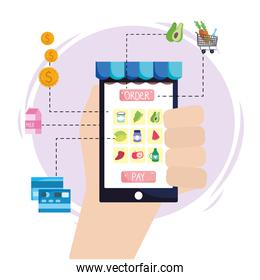 grocery online ecommerce