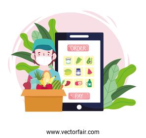 online grocery food