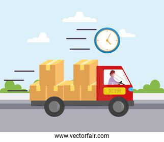 fast delivery service