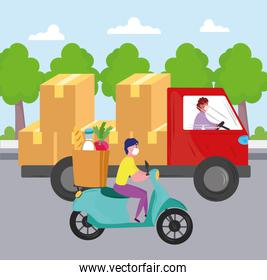 delivery workers service