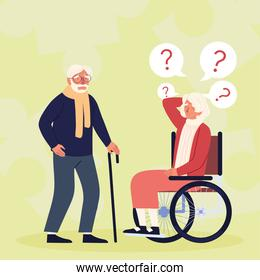 alzheimer elderly people