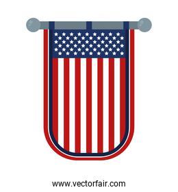 decorative usa banner