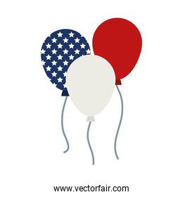 usa balloons design
