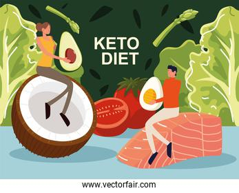 keto diet people