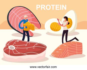 people protein food