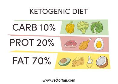 ketogenic diet infographic