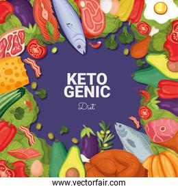 ketogenic diet lettering