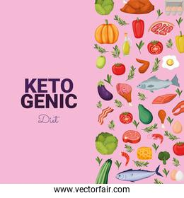ketogenic diet card