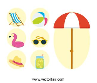 summer vacations collection