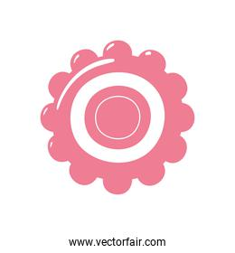 gear icon isolated