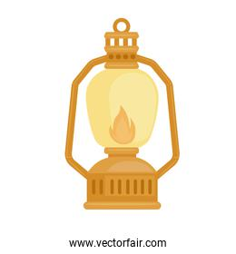 kerosene lamp icon