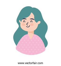 young woman avatar