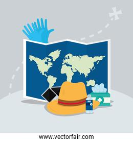 travel related icons