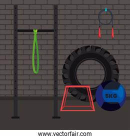 crossfit gym place