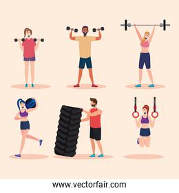 strong people crossfit