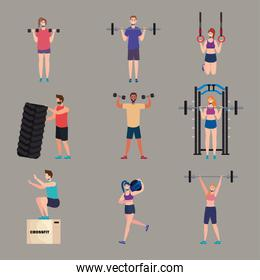 strong athletes crossfit