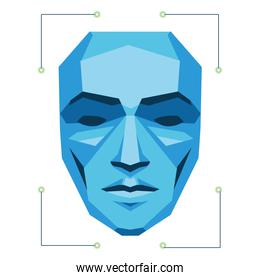 scan person face