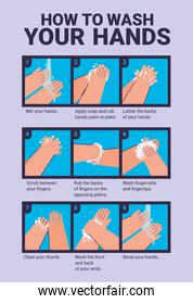 clean hands instructions