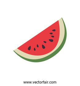 Isolated watermelon fruit