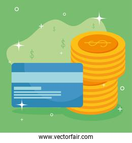 coins credit card