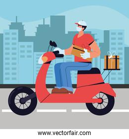 man delivery service