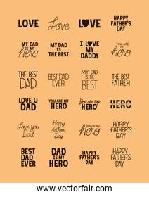 fathers day expressions