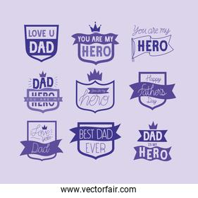 fathers day emblems