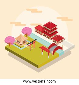 asian traditional buildings