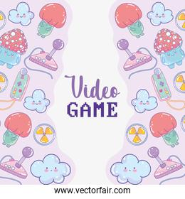 video game banner