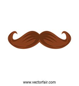 hipster moustache icon