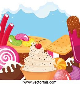 iced confectionery products