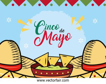 Mexican celebration hats