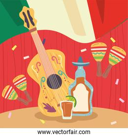 guitar and tequila