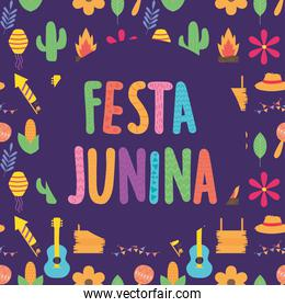 happy festa junina