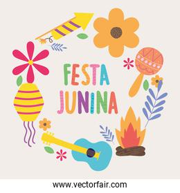 design of festa junina