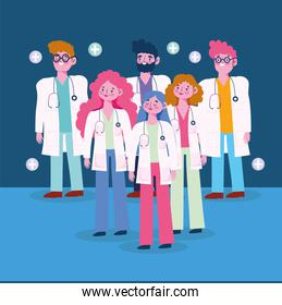 physicians professional cartoon