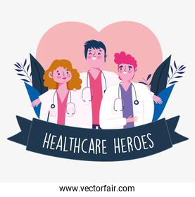 physicians healthcare heroes