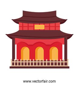 asian house front