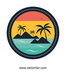 surf circular patch