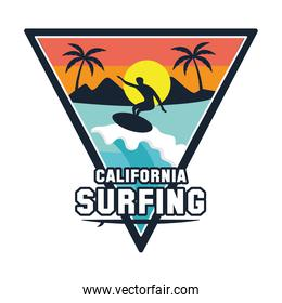 surf triangle patch