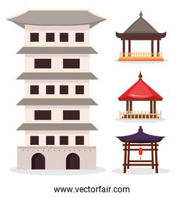 asian architecture icons