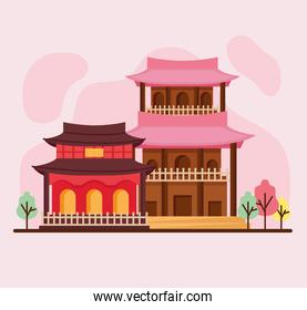 asian architecture constructions