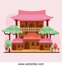 asian architecture facade