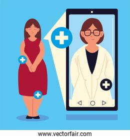 doctor videocalling online