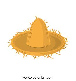 traditional straw hat