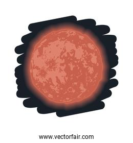 red moon phase