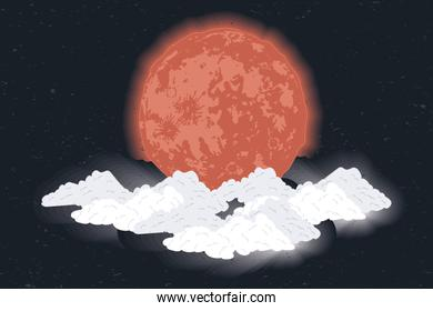 blood moon phase